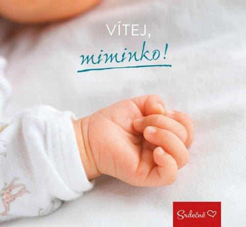 neuveden: Vítej, miminko!