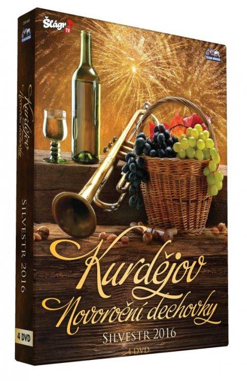 neuveden: Novoroční dechovka 2016 - Kurdějov - 4 DVD