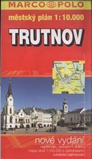 neuveden: Trutnov - městský plán 1:10,000