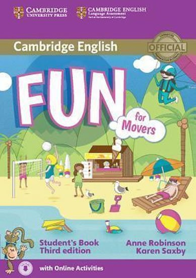 Robinson Anne: Fun for Movers 3rd Edition: Student´s Book