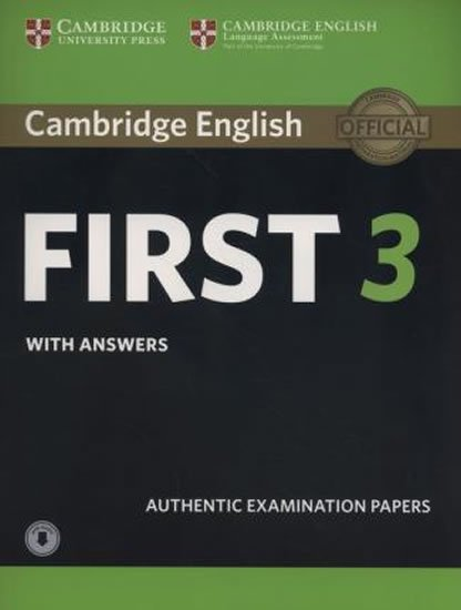 kolektiv autorů: Cambridge English First 3 Student´s Book with Answers with Audio