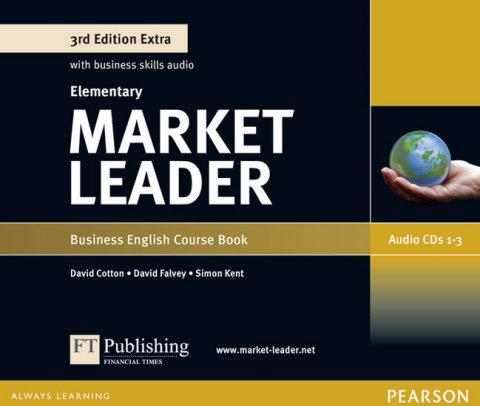 Dubicka Iwona: Market Leader 3rd Edition Extra Elementary Class Audio CD