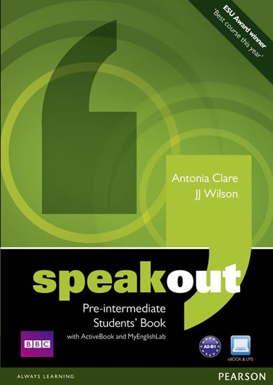 Wilson J. J.: Speakout Pre-Intermediate Students´ Book w/ DVD/Active book/MyEnglishLab Pa
