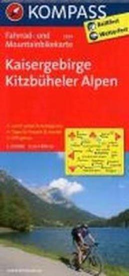 neuveden: Kaisergebirge,Kitzbüheler Alpen 3304 / 1:70T KOM