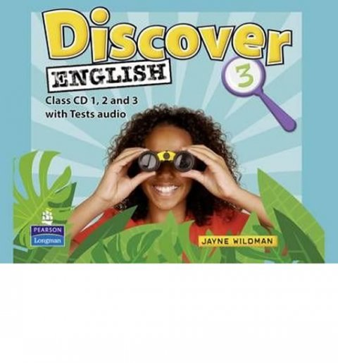 Wildman Jayne: Discover English 3 Class CD