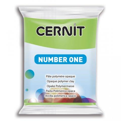neuveden: CERNIT NUMBER ONE 56g světle zelená