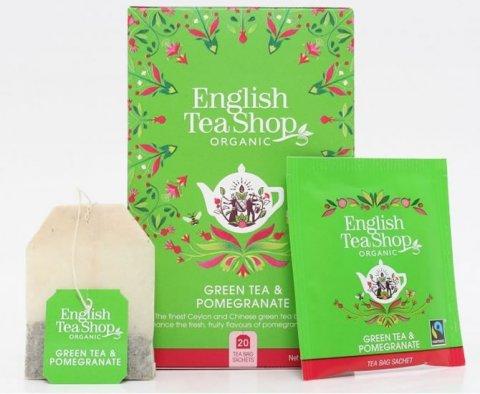 neuveden: English Tea Shop Zelený čaj s granátovým jablkem - redesign mandala