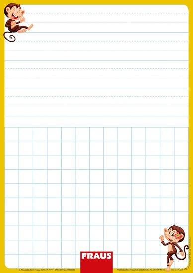 neuveden: Stíratelná tabulka pro 1. ročník - vázané písmo