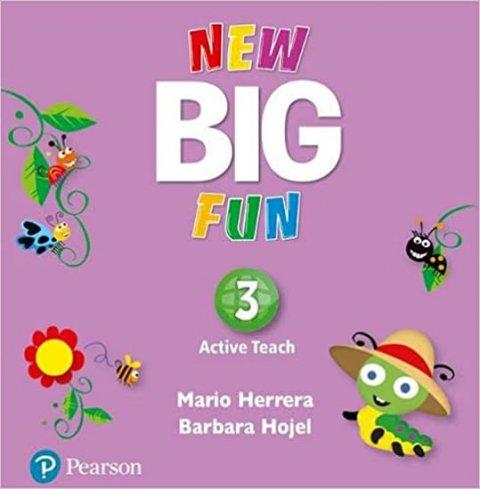 Herrera Mario, Hojel Barbara: Big Fun 3 Active Teach