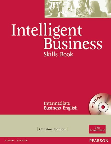 Johnson Christine: Intelligent Business Intermediate Skills Book w/ CD-ROM Pack