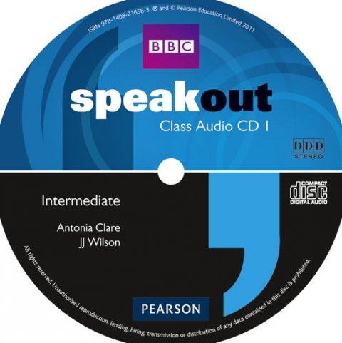 Wilson J. J.: Speakout Intermediate Class CD (x3)