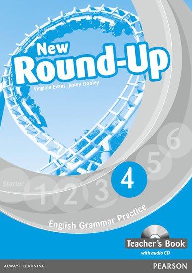 Dooley Jenny: Round Up 4 Teacher´s Book w/ Audio CD Pack