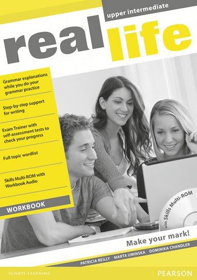 Reilly Patricia: Real Life Upper Intermediate Workbook w/ Multi-Rom Pack