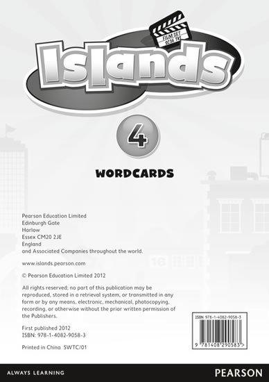 neuveden: Islands 4 Word Cards for Pack