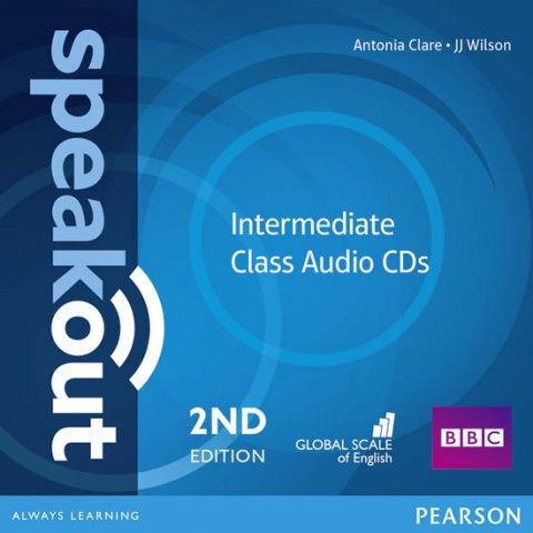Clare Antonia: Speakout 2nd Edition Intermediate Class CDs (2)