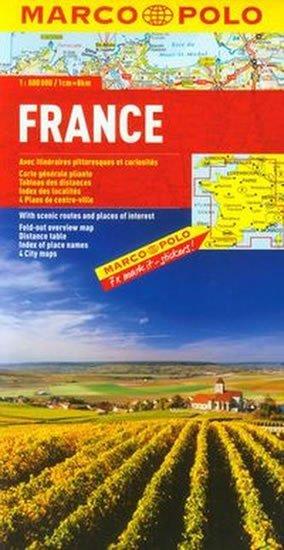neuveden: Francie/mapa 1:800T MD