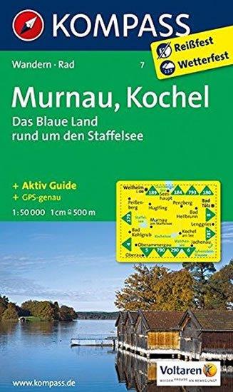 neuveden: Murnau,Kochel 7 / 1:50T NKOM