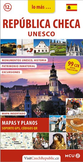 Eliášek Jan: Česká republika UNESCO - kapesní průvodce/španělsky