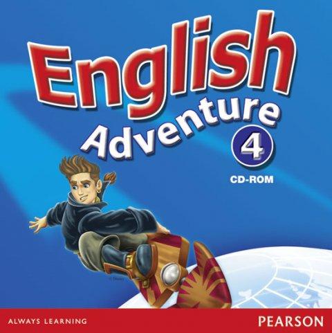 Hearn Izabella: English Adventure 4 Multi-Rom