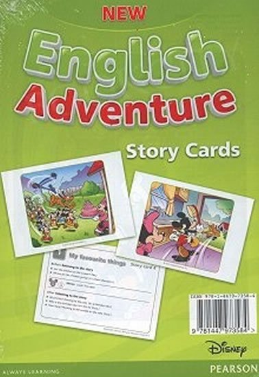 Worrall Anne: New English Adventure 1 Storycards