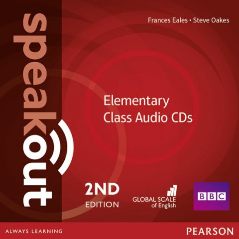 Eales Frances: Speakout 2nd Edition Elementary Class CDs (3)