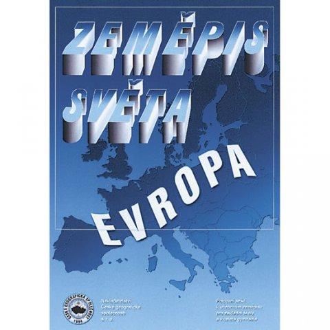 Řezníčková Dana: Zeměpis světa – Evropa - Pracovní sešit