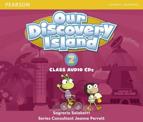 Thornbury Scott: Our Discovery Island 2 Audio CD