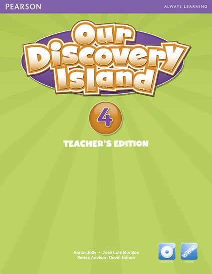 neuveden: Our Discovery Island American Edition Teacher´s Book w/ Audio CD 4 Pack