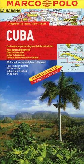 neuveden: Kuba / mapa