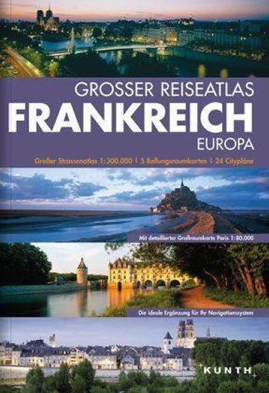 neuveden: Francie atlas VWK/ 1:300T