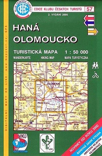 kolektiv: 57 KČT Haná - Olomoucko