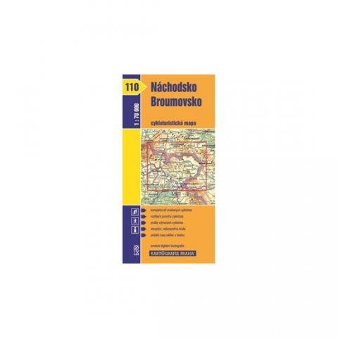 neuveden: 1: 70T(110)-Náchodsko, Broumovsko (cyklomapa)