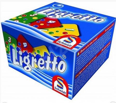 neuveden: Ligretto/modré - Karetní hra