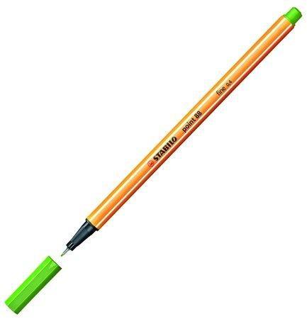 neuveden: Popisovač STABILO point liner 88 zelený světle