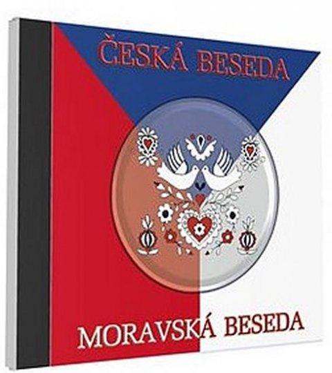 neuveden: Česká a moravská beseda - 1 CD