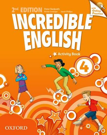 Redpath Peter: Incredible English 4 Activity Book with Online Practice (2nd)