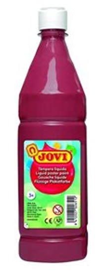 neuveden: JOVI temperová barva 1000ml v lahvi hnědá