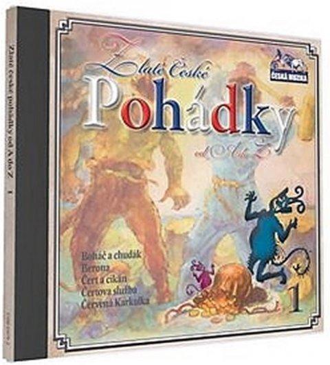 neuveden: Zlaté České pohádky  1. - 1 CD