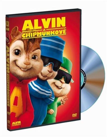 neuveden: Alvin a Chipmunkové DVD