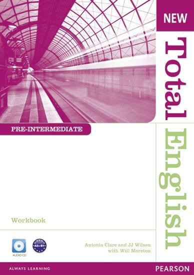 Moreton Will: New Total English Pre-Intermediate Workbook w/ Audio CD Pack (no key)