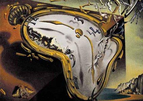 neuveden: Salvador Dalí: Rozteklé hodinky - Puzzle/1500 dílků