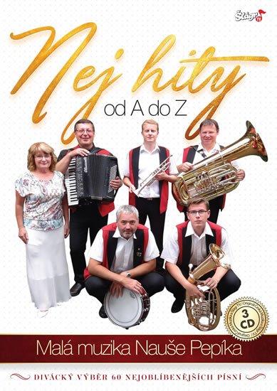neuveden: Malá muzika Nauše Pepíka - Nej hity A-Z - 3 CD