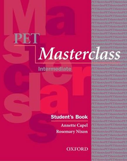 Capel Annette, Sharp Wendy,: Pet Masterclass Student´s Book with Introduction to Pet Pack