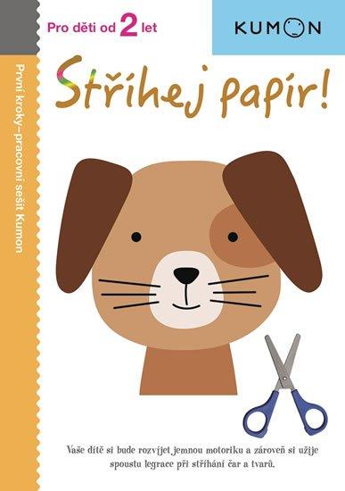 Karakida Toshihiko: Stříhej papír! - Pro děti od 2 let