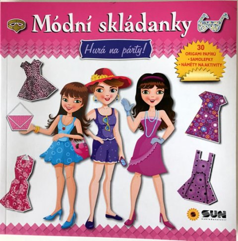 neuveden: Módní skládanky - Hurá na party origami