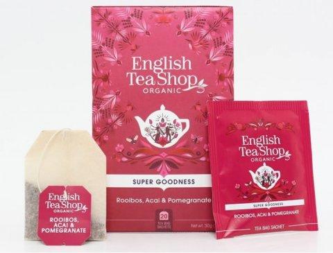 neuveden: English Tea Shop Rooibos, Acai a granát jablko - design mandala