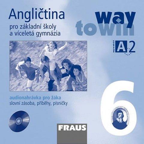 kolektiv autorů: Angličtina 6 pro ZŠ a víceletá gymnázia Way to Win - CD /1ks/ pro žáka