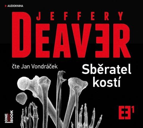 Deaver Jeffery: Sběratel kostí - CDmp3 (Čte Jan Vondráček)