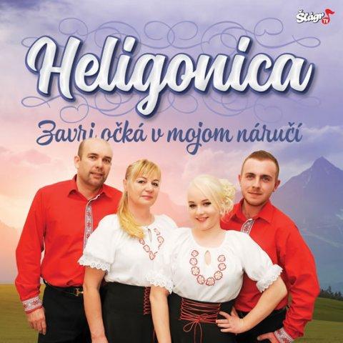 neuveden: Heligonica - Zavri očka v mojom náručí - CD
