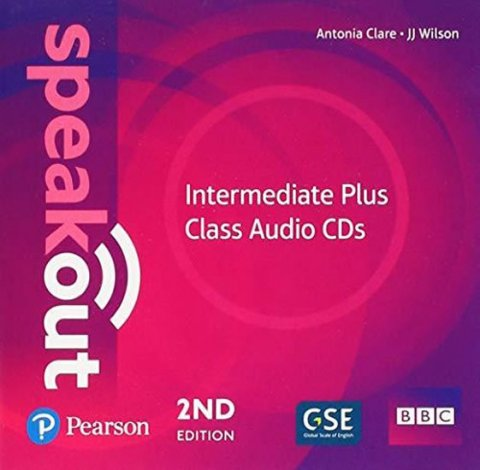 kolektiv autorů: Speakout Intermediate Plus Class CDs, 2nd Edition